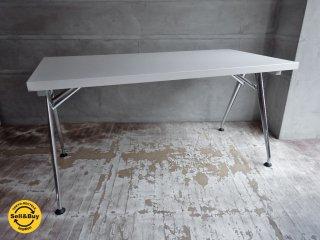 ヴィトラ vitra クリック Click 会議用テーブル 折りたたみ式 ソフトライト アルベルト・メダ Alberto Meda ♪
