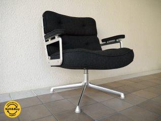 ハーマンミラー HermanMiller イームズ C&R.Eames 美品 タイムライフチェア エグゼクティブチェア ビンテージ 4本脚 & レアファブリック 参考価格¥562,680- ◇