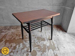 ジャパンヴィンテージ デコラトップ ソファサイドテーブル ローテーブル ♪