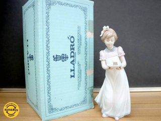リヤドロ LLADRO #5429 『ハッピーバースデー 』 フィギュリン 陶器 人形 置物 箱付 ◎