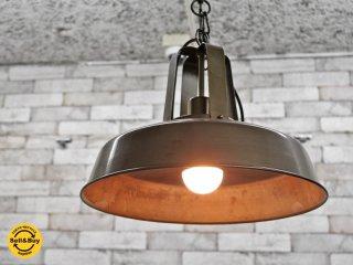 アクメファニチャー ACME Furniture ボルサランプ BOLSA LAMP シルバー インダストリアルデザイン ●