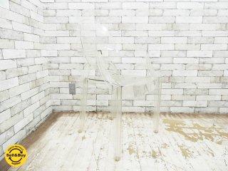 カルテル Kartell ルイゴースト Louis Ghost スタッキング アームチェア フィリップ・スタルク イタリア製 B ●