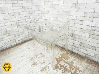カルテル Kartell ルイゴースト Louis Ghost スタッキング アームチェア フィリップ・スタルク イタリア製 C ●