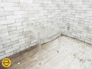 カルテル Kartell ルイゴースト Louis Ghost スタッキング アームチェア フィリップ・スタルク イタリア製 A ●
