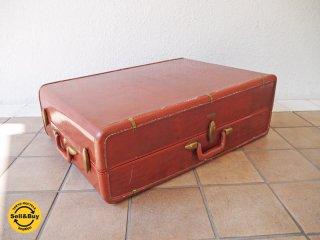 USA サムソナイト Samsonaite 50-60's ビンテージ #4939 トランク ( スーツケース ラゲッジ ブリーフケース 店舗什器 ディスプレイ 収納家具 ローテーブル ) ◇