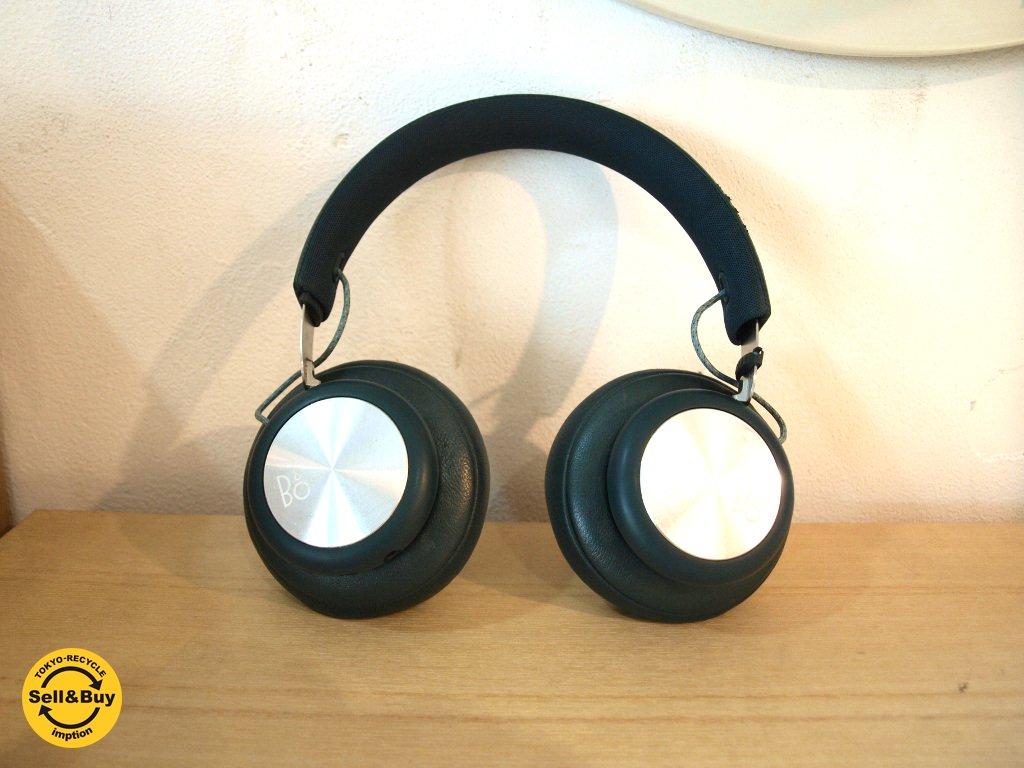 バング&オルフセン Bang & Olufsen ワイヤレスヘッドホン Beoplay H4 密閉型 スティールブルー B&O Bluetooth ★