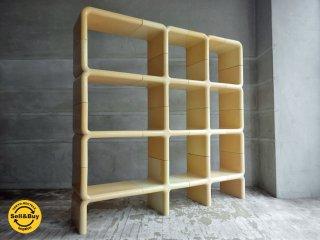ディレクショナル ファニチャー Directional Furniture ウンボ UMBO シェルフユニット 16パーツ スペースエイジ ビンテージ US アメリカ ♪