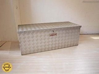 アルミ縞板 ツールボックス Tool Box 道具箱 工具箱 トラックボックス TRUCK-BOX 荷台ボックス 鍵付  croco art factory ★