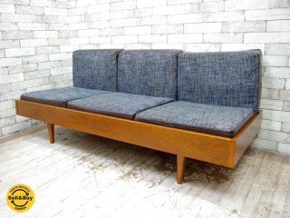 パシフィックファニチャーサービス Pacific furniture service P.F.S クラブシックス CLUB 6 ソファ 3シーター オーク材 ●