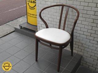 秋田木工 akimoku ダイニングアームチェア No.503 ブラウン 食卓椅子 IDC大塚家具取扱 B■