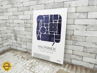 カイ・フランク Kaj Franck 2006年 展覧会 アラビアミュージアム 希少 ポスター 額付 ●