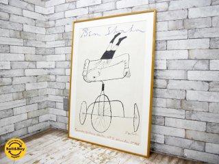 ベンシャーン Ben Shahn 三輪車上の逆立ち Headstand on Tricycle ポスター ●