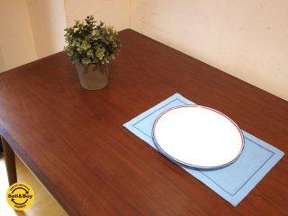 秋田木工 akimoku ダイニングテーブル 無垢材縁 突板天板 IDC取扱 W130 M-T-001 ★