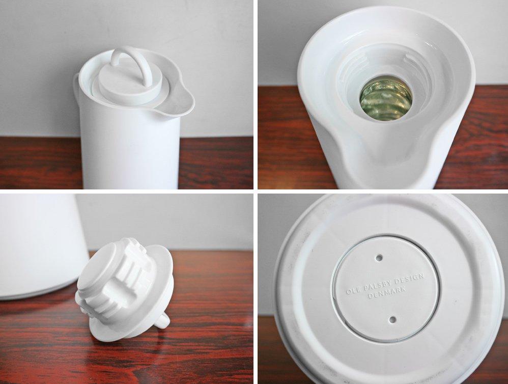 オーレパルスビーデザイン OLE PALSBY DESING サーモジャグ 1L ホワイト 保温ポット 魔法瓶 デンマーク B ◎