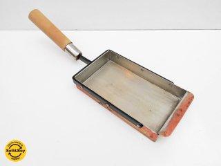 京都 有次 ありつぐ 玉子焼鍋 フライパン 銅板 鍛冶 ●