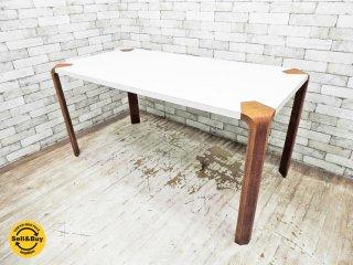 天童木工 Tendo アントラー ANTLER ダイニングテーブル チーク材 坂倉準三 ビンテージ ●