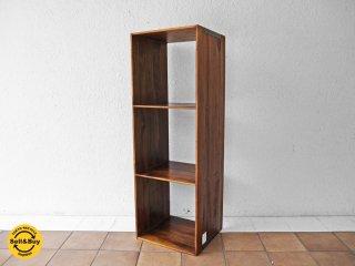 アクメ ファニチャー ACME furniture ディーボディー d-Bodhi トロイ オープンシェルフ 3段 L キャビネット ローボード AVボード 定価:23,760円 ◇