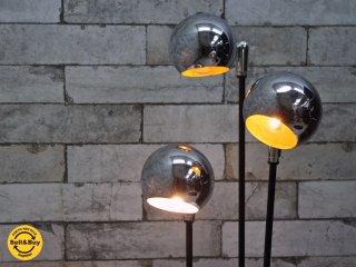 ACME Furniture 購入 USビンテージ 3灯 テーブルランプ ボールランプ ミッドセンチュリー ●
