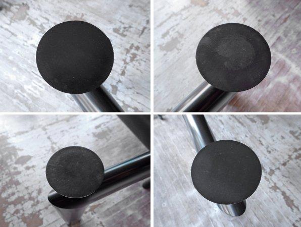 カッシーナ Cassina LC6 ダイニングテーブル クリアガラス 幅180cm ル・コルビジェ デザイン♪