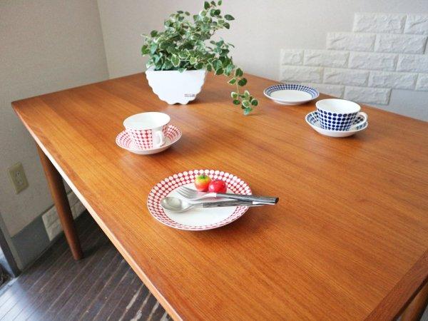 北欧 ビンテージ チーク材  EX エクステンション ダイニングテーブル デンマーク ◎