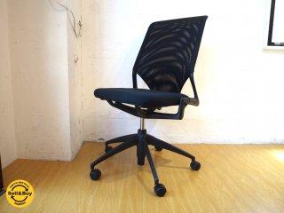 ヴィトラ Vitra デスクチェア Desk chair 昇降機能付 シート前傾機能 ブラック オフィス家具 ★
