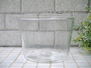 辻和美 はなちょこ 澄んだ空気 ボウル 鉢 ガラス ハンドブロー 手吹き ■