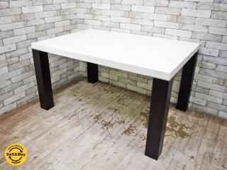 モリタインテリア MORITA 531 ダイニングテーブル  モダンデザイン W130cm ●