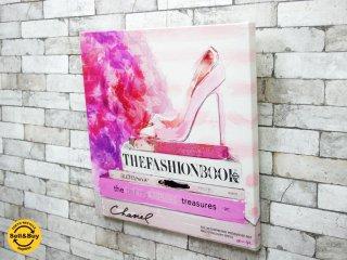 オリバー・ガル Oliver Gal ファッションブック ハイヒール The Fashion Book HL アートフレーム キャンバスプリント サイン入り ●