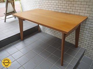 ウニコ unico コルソ CORSO オーク材 ダイニングテーブル 幅138cm 廃番 北欧スタイル ■