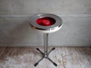 レトロポップ スペースエイジデザイン ヴィンテージ スモーキングスタンド アッシュトレイ 灰皿 ♪