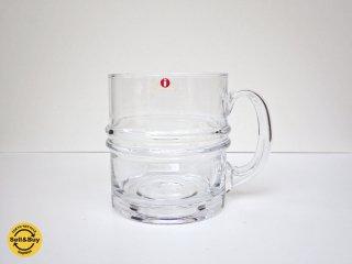イッタラ iittala ピサラレンガス Pisararengas ビアジョッキ ビールグラス ティモ・サルパネヴァ 旧ロゴシール B ♪