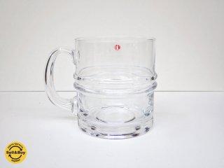 イッタラ iittala ピサラレンガス Pisararengas ビアジョッキ ビールグラス ティモ・サルパネヴァ 旧ロゴシール A ♪