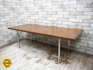 アンドレアス・タック ANDREAS TUCK AT12 コーヒーテーブル チーク材 ビンテージ ハンス・J ・ウェグナー 北欧家具 ●