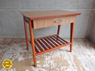 ジャパンビンテージ デコラトップ サイドテーブル ♪