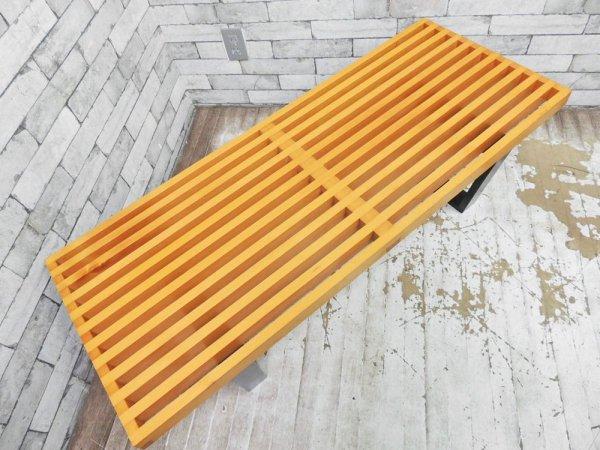 ジョージ ネルソン George Nelson プラットフォーム ベンチ Platform Bench テーブル ミッドセンチュリーデザイン リプロダクト ●