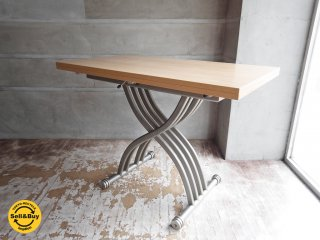 オッジオ OZZIO T-095 昇降伸長式 リフティングテーブル ダイニングテーブル イタリア ♪