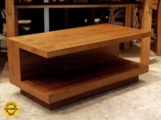 イデー IDEE アティーノ ATINO ソファテーブル ウォールナット材 木製ローテーブル シンプルモダン 廃番モデル ■