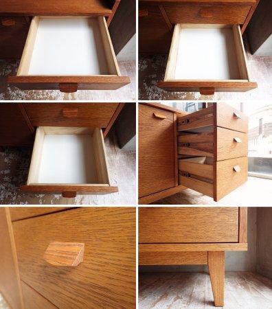 ウニコ unico クルト KURT カップボード キャビネット 食器棚 オーク材 北欧ヴィンテージスタイル ♪