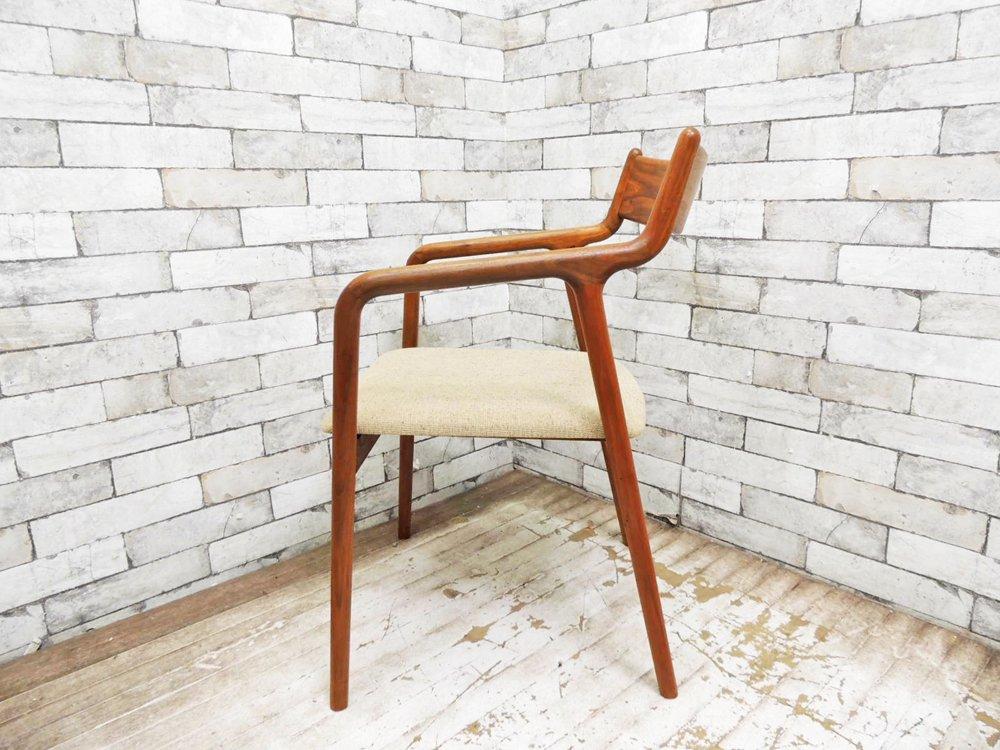 宮崎椅子製作所 ぺぺ pepe アームチェア ダイニングチェア ウォールナット材 村澤一晃 A 定価¥80,352- ●