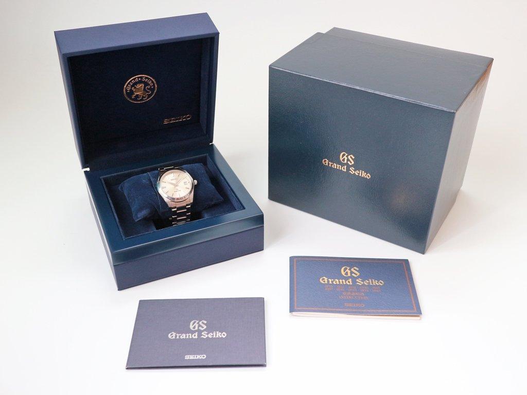 セイコー SEIKO グランドセイコー GRAND SEIKO 腕時計 美品 SBGX063 9F62-0AB0 時計 ◎