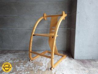 シン Shin イーチェア e-chair ベビーチェア キッズチェア 木馬 佐々木敏光デザイン ナチュラル♪