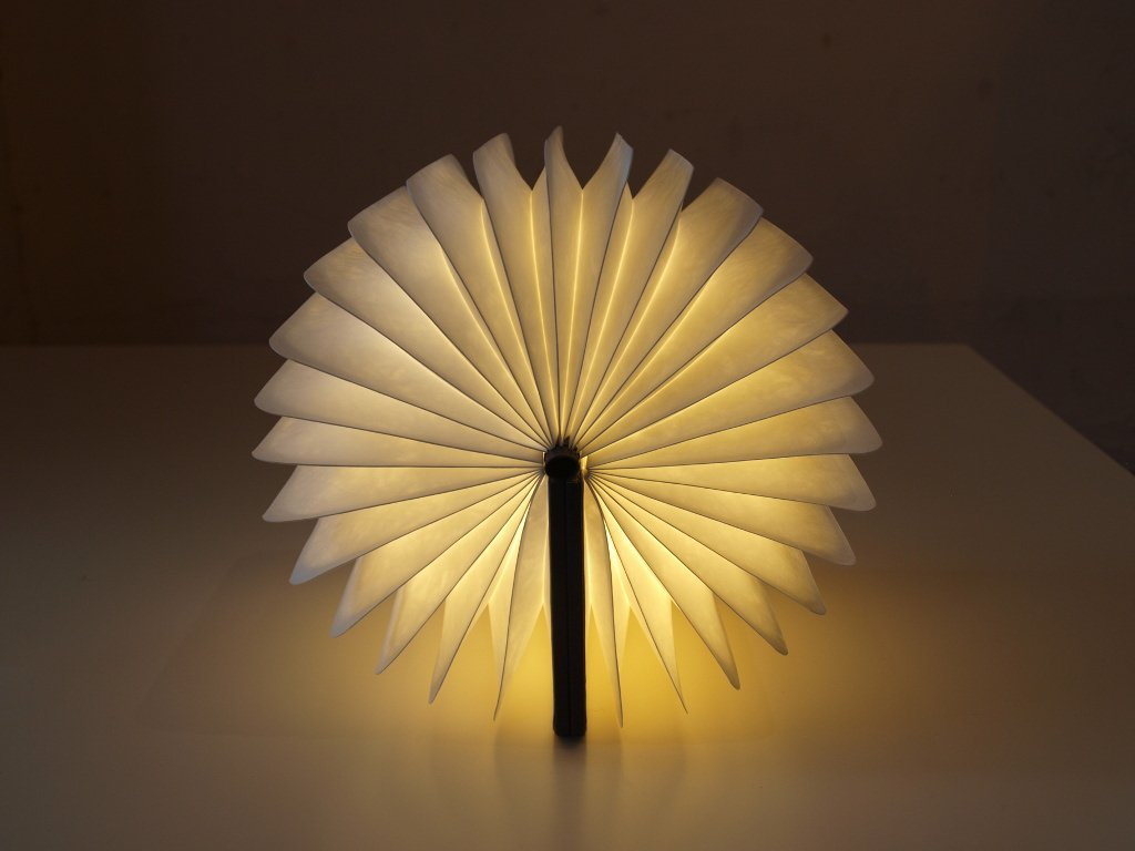 ミニ ルミオ MiniLumio ブック型 コードレス LEDランプ ネイビー×イエロー 『逃げ恥』インテリアランプ ★