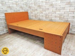 フォルミオ FORMIO ベッドフレーム KF-06 ブナ材 定価 約18万 ナチュラルデザイン ●