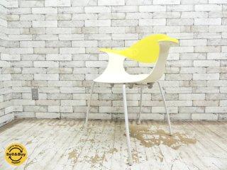 ドリアデ driade ブルーベルチェア BLUEBELLE chair イエロー ロス・ラヴグローヴ ●
