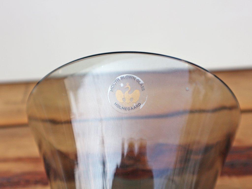 ホルムガード HOLMEGAARD ウラニア Urania ガラススピーカー スモーク 北欧 アイフォン スマホ 専用 ◎