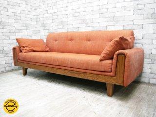 アクメファニチャー ACME Furniture ウィンダン WINDAN 3P ソファ  アメリカンヴィンテージスタイル 参考価格21万円 ●