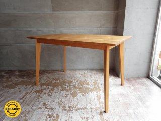 モモナチュラル Momo Natural ビボ VIBO ダイニングテーブル W120cm ♪
