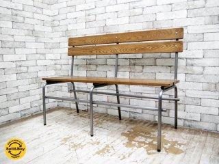 ジャーナルスタンダードファニチャー journal standard Furniture ブリストル ベンチ BRISTOL BENCH インダストリアル ●