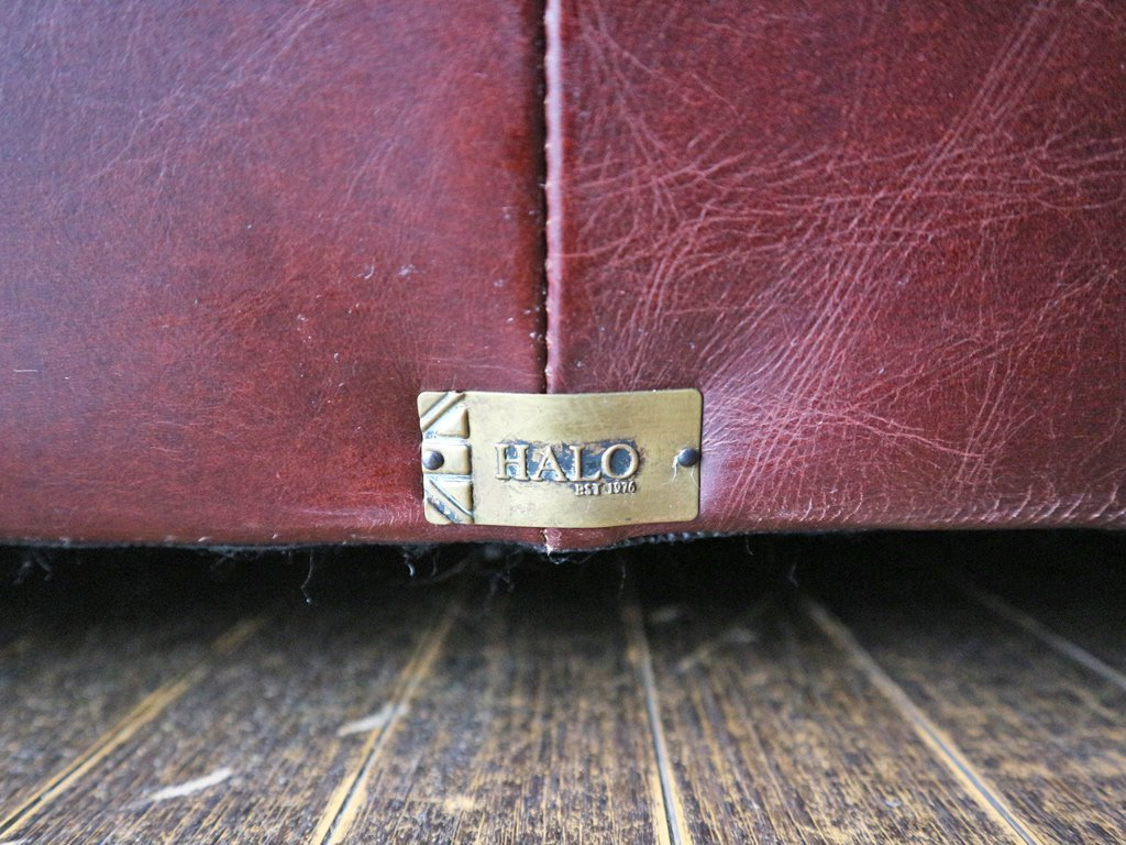 ハロ HALO フリーマーケット FLEAMARKET 2シーター ソファ 本革 英国 バイカータン アスプルンド取扱 ◎