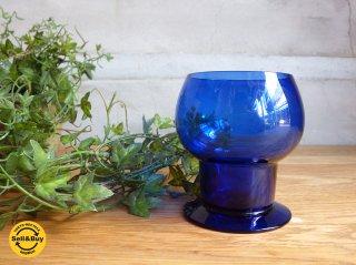 ヌータルヤルヴィ Nuutajarvi ヴィンテージ ワイングラス Wineglass 1111 カイ・フランク Kaj Franck 1953-57年 コバルトブルー ♪